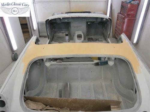 Austin Healey Sprite Restoration Concours Spec 137