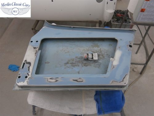 Austin Healey Sprite Restoration Concours Spec 140