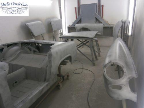 Austin Healey Sprite Restoration Concours Spec 145