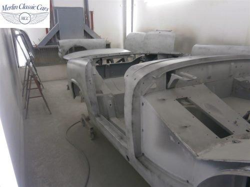 Austin Healey Sprite Restoration Concours Spec 146