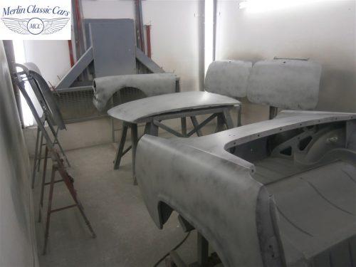 Austin Healey Sprite Restoration Concours Spec 147