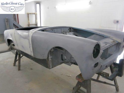 Austin Healey Sprite Restoration Concours Spec 15
