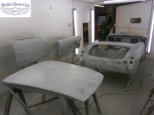 Austin Healey Sprite Restoration Concours Spec 151