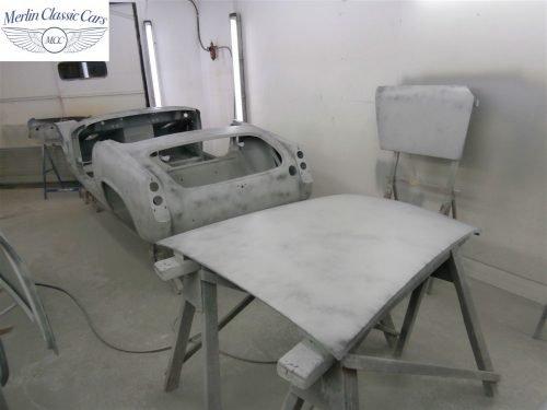 Austin Healey Sprite Restoration Concours Spec 152