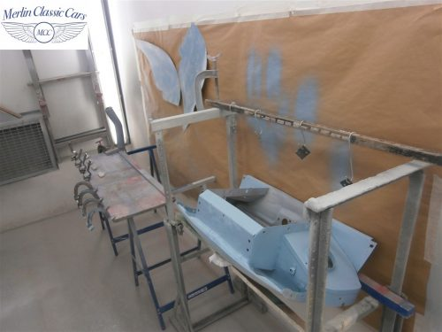 Austin Healey Sprite Restoration Concours Spec 158
