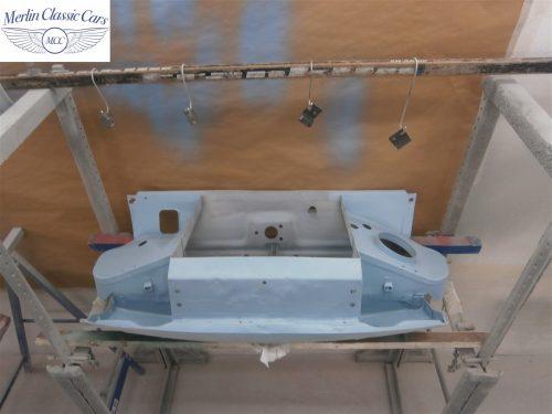 Austin Healey Sprite Restoration Concours Spec 159