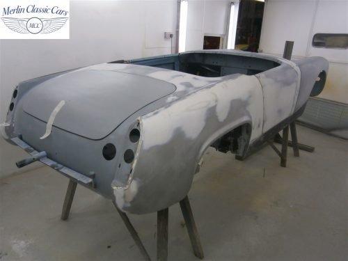 Austin Healey Sprite Restoration Concours Spec 16