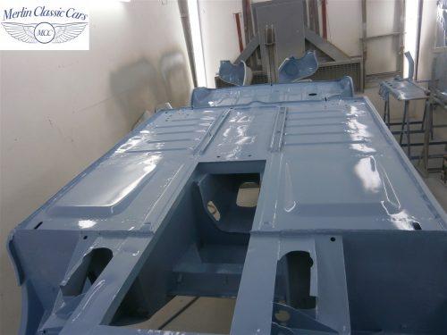 Austin Healey Sprite Restoration Concours Spec 165