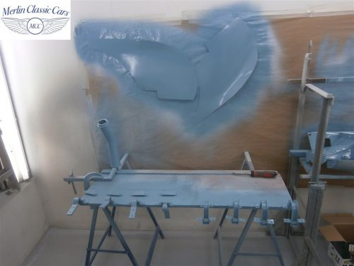 Austin Healey Sprite Restoration Concours Spec 166