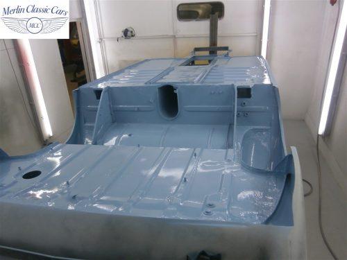 Austin Healey Sprite Restoration Concours Spec 170