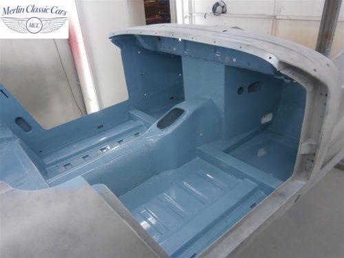 Austin Healey Sprite Restoration Concours Spec 173