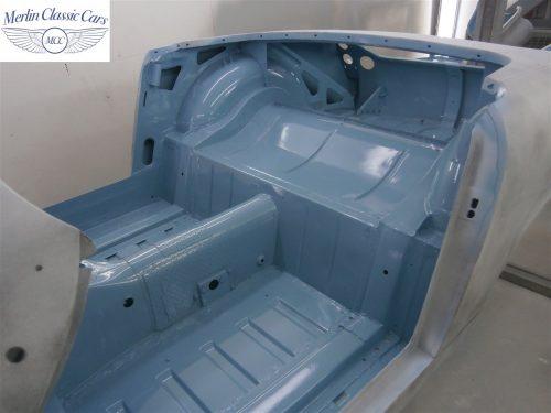 Austin Healey Sprite Restoration Concours Spec 177