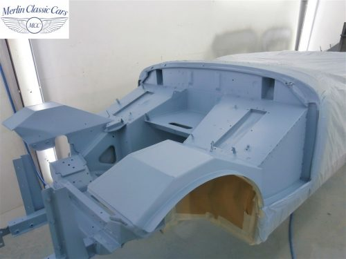 Austin Healey Sprite Restoration Concours Spec 183