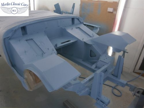 Austin Healey Sprite Restoration Concours Spec 191