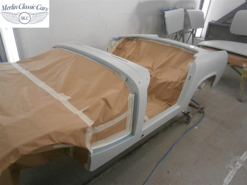 Austin Healey Sprite Restoration Concours Spec 203