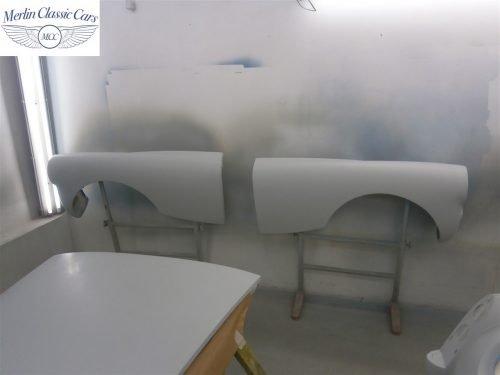 Austin Healey Sprite Restoration Concours Spec 208