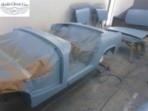 Austin Healey Sprite Restoration Concours Spec 215