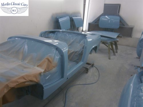 Austin Healey Sprite Restoration Concours Spec 224