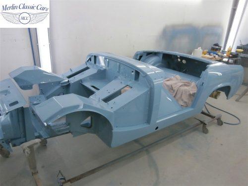 Austin Healey Sprite Restoration Concours Spec 238