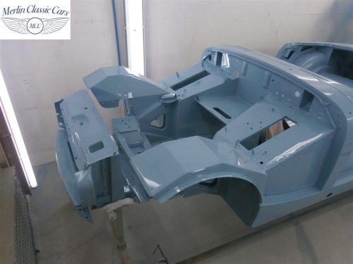 Austin Healey Sprite Restoration Concours Spec 239