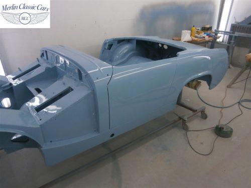 Austin Healey Sprite Restoration Concours Spec 247