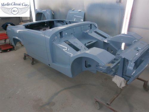 Austin Healey Sprite Restoration Concours Spec 253