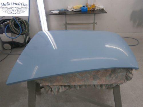 Austin Healey Sprite Restoration Concours Spec 261