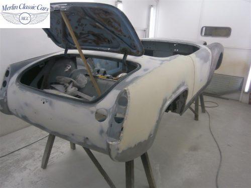 Austin Healey Sprite Restoration Concours Spec 31