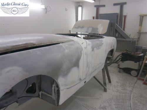Austin Healey Sprite Restoration Concours Spec 38