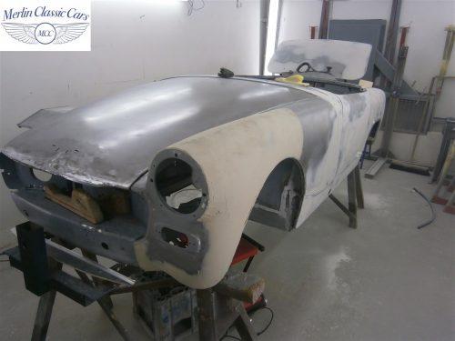 Austin Healey Sprite Restoration Concours Spec 42