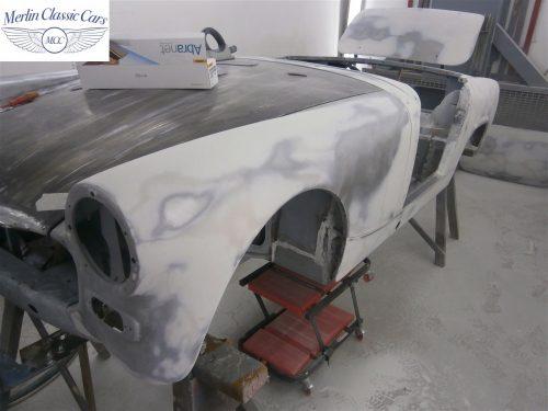 Austin Healey Sprite Restoration Concours Spec 54