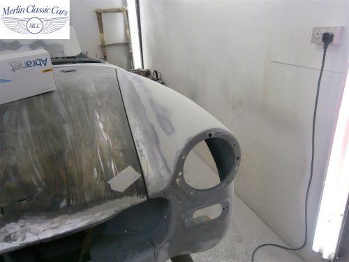 Austin Healey Sprite Restoration Concours Spec 55