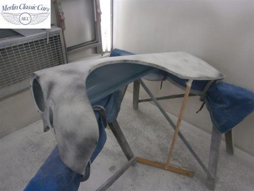 Austin Healey Sprite Restoration Concours Spec 96
