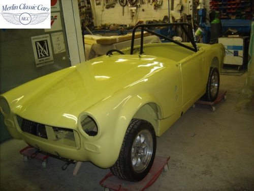 Austin Healey Sprite Restoration Fast Road Car 2