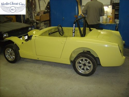 Austin Healey Sprite Restoration Fast Road Car 3