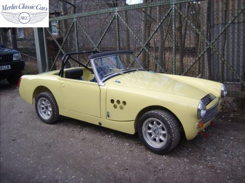 Austin Healey Sprite Restoration Fast Road Car 4