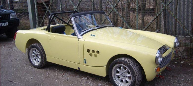 Austin Healey Sprite Restoration Fast Road Car 4