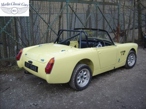 Austin Healey Sprite Restoration Fast Road Car 5