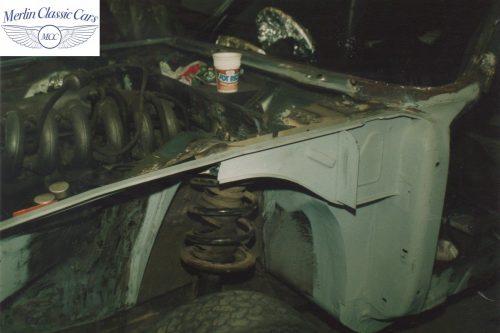 BMW CSL Restoration 1