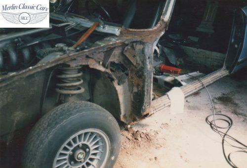 BMW CSL Restoration 2