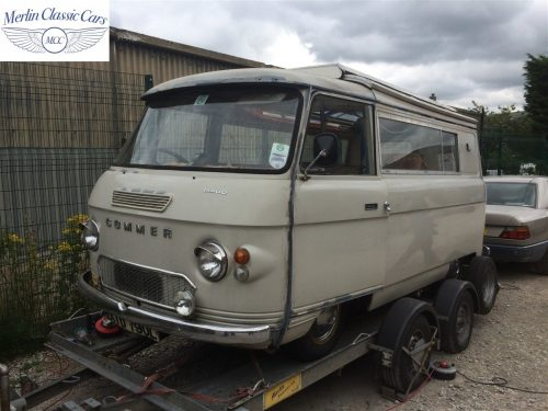Commer Camper Van Restoration 1