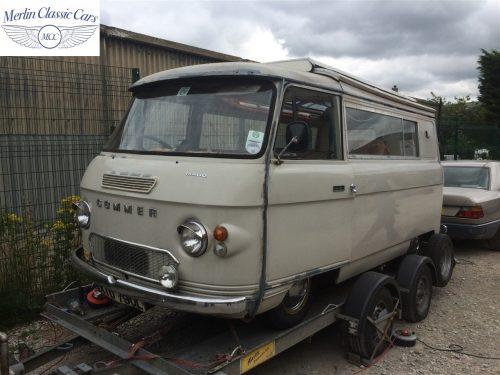 Commer Camper Van Restoration 1