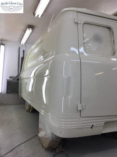 Commer Camper Van Restoration 10