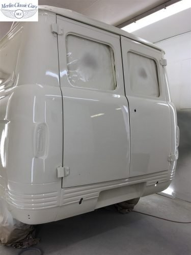 Commer Camper Van Restoration 11