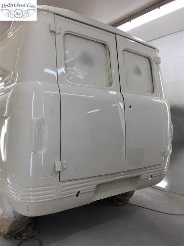 Commer Camper Van Restoration 11