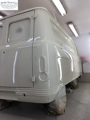 Commer Camper Van Restoration 12