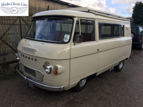 Commer Camper Van Restoration 13