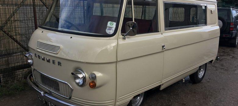 Commer Camper Van Restoration 13