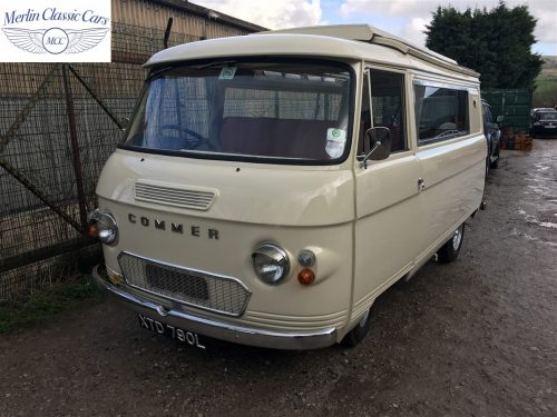 Commer Camper Van Restoration 14