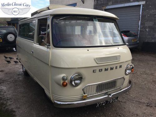 Commer Camper Van Restoration 16